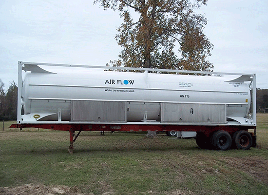 40ft Cryogenic ISO TANK CONTAINER