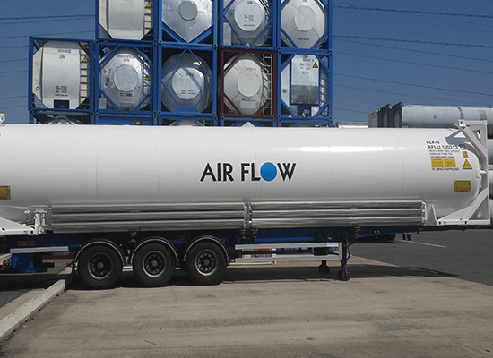 45ft Cryogenic ISO TANK CONTAINER