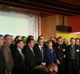 Les dirigeants et Monsieur le Ministre