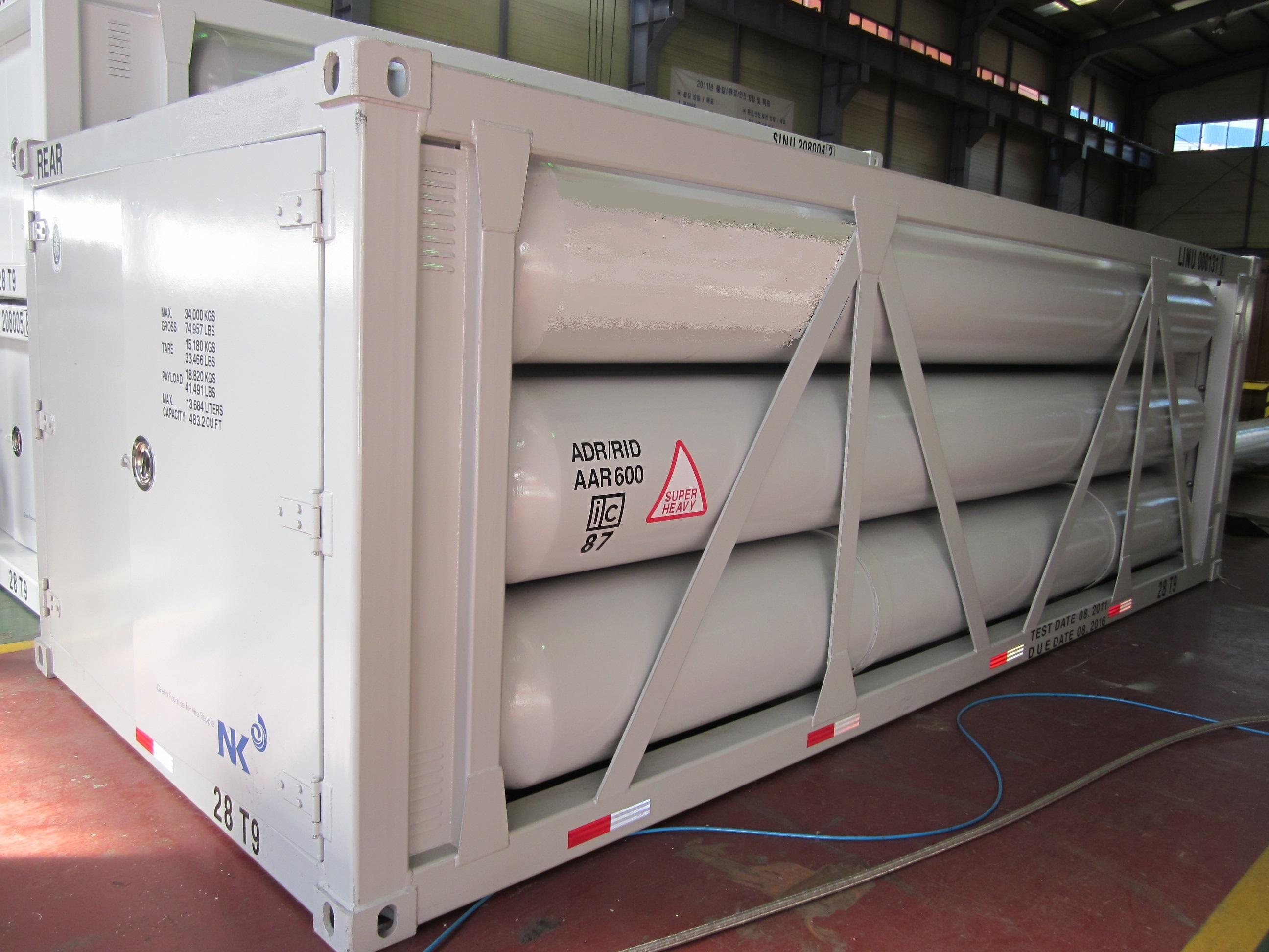 20 FT NF3 iso tube