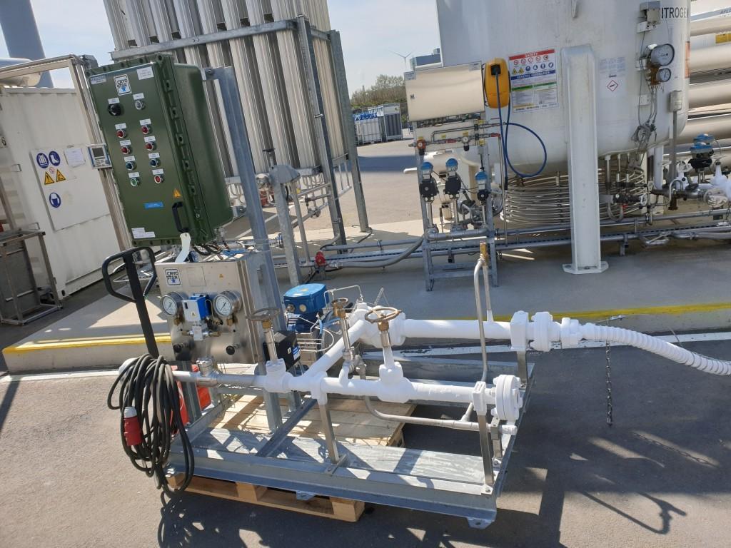 Pompe LNG Europe